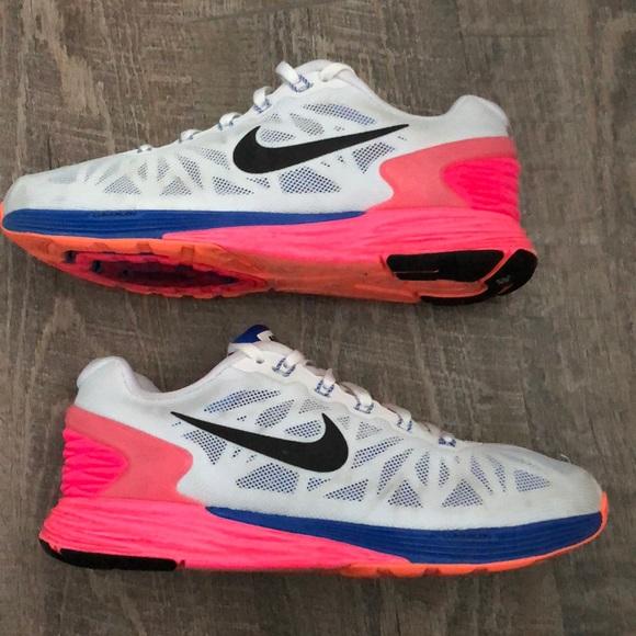 1d4b6c5540300 ✓️NIKE Women s LunarGlide 6 Running Sneakers -Sz 7.  M 5aaee8cca44dbef0fbba2650